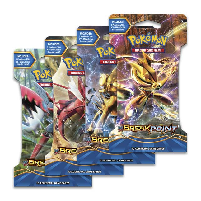 Image for Pokémon TCG: XY-BREAKpoint Sleeved Booster Pack (10 Cards) from Pokemon Center