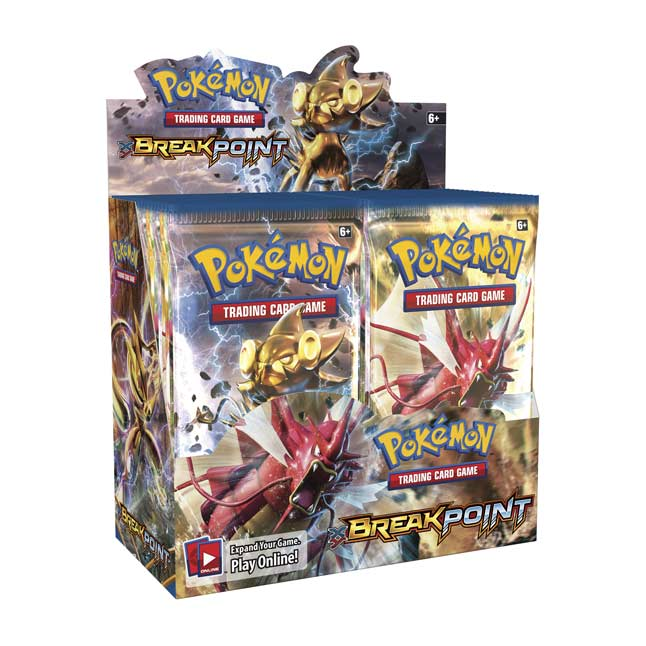 Image for Pokémon TCG: XY-BREAKpoint Display (36 Packs) from Pokemon Center
