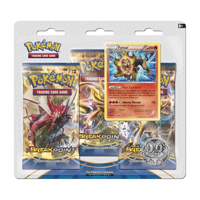 Image for Pokémon TCG: 3 Booster Packs with Pyroar Promo Card from Pokemon Center