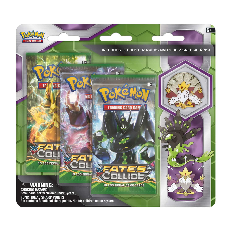Pokémon Tcg Mega Alakazam 3 Pack Pin Blister