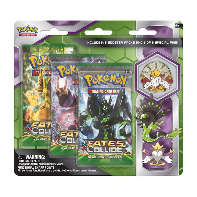 Image for Pokémon TCG: 3 Booster Packs with Mega Alakazam Collector's Pin from Pokemon Center