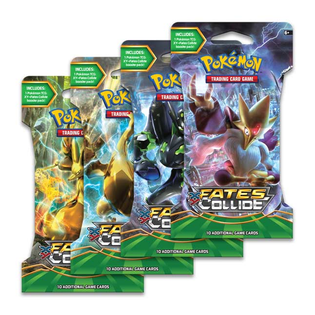 Image for Pokémon TCG: XY-Fates Collide Sleeved Booster Pack (10 Cards) from Pokemon Center
