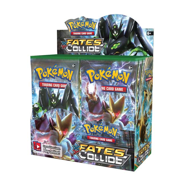 Image for Pokémon TCG: XY-Fates Collide  Booster Display (36 packs) from Pokemon Center