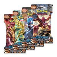 Pokémon TCG: XY-Steam Siege Sleeved Booster (10 Cards)