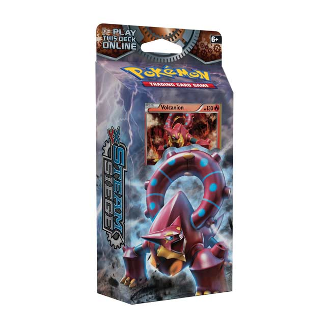 Image for Pokémon TCG: XY-Steam Siege Gears of Fire Theme Deck (60 Cards) from Pokemon Center