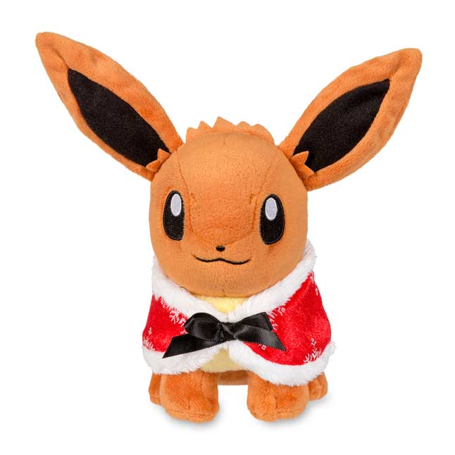 "Image for Eevee Holiday Poké Plush (Standard Size) - 8"" from Pokemon Center"