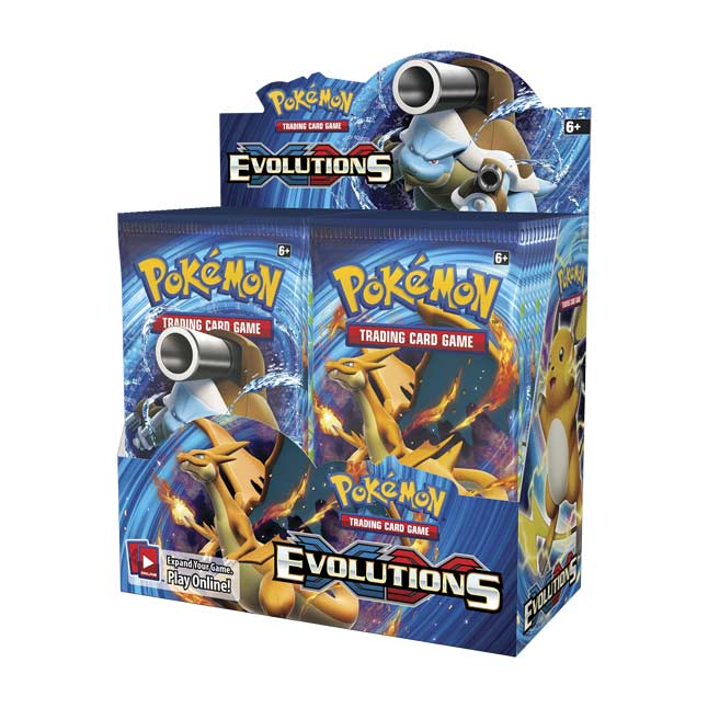 Image for Pokémon TCG: XY—Evolutions Booster Display (36 packs) from Pokemon Center