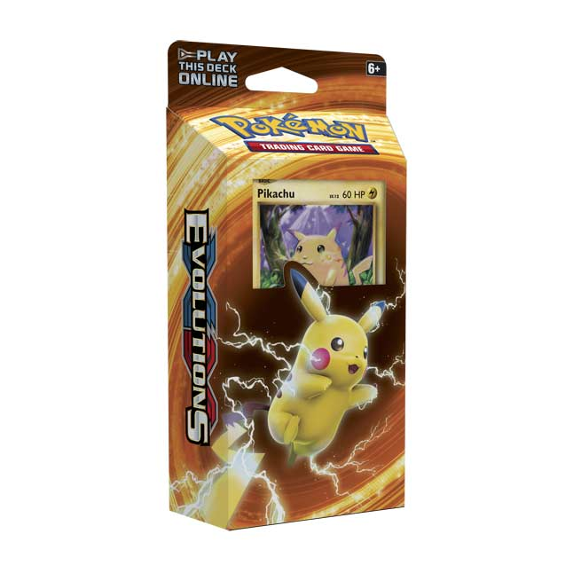 Image for Pokémon TCG: Pikachu Power Theme Deck from Pokemon Center