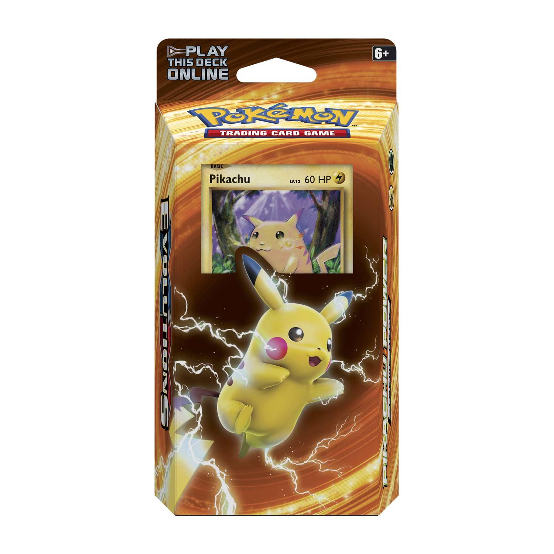 Pok 233 Mon Tcg Pikachu Power Theme Deck Pikachu Foil Card