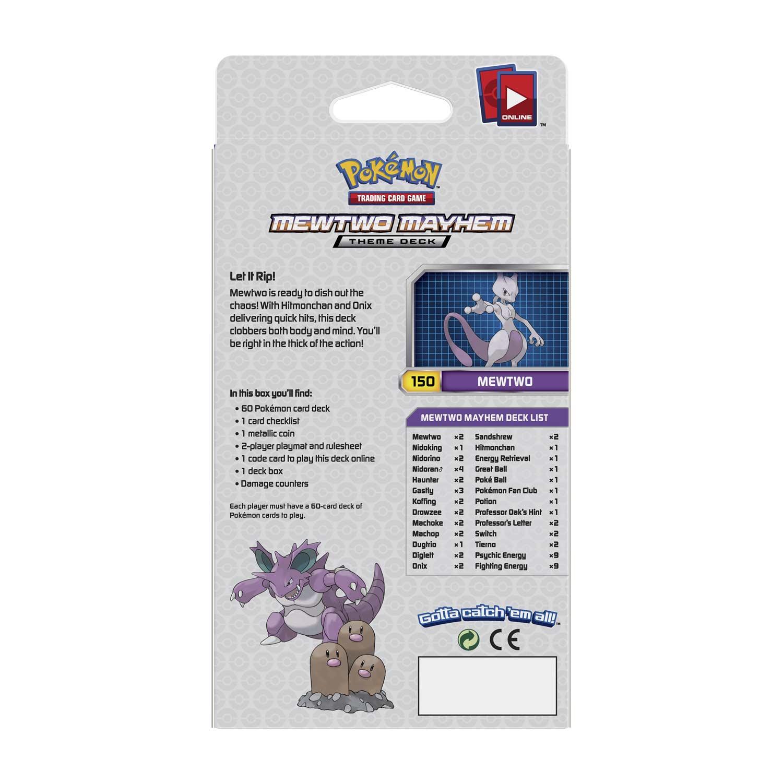 Pokémon TCG: Mewtwo Mayhem Theme Deck