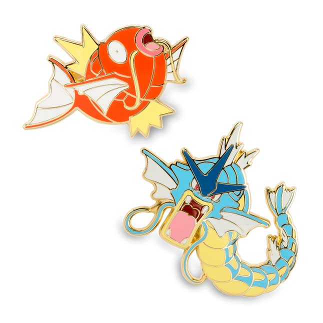 Image for Magikarp and Gyarados Pokémon Pins (Evo 2 Pack) from Pokemon Center