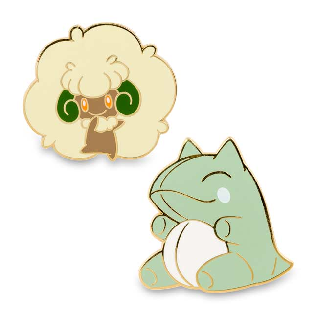 Image for Whimsicott and Substitute Pokémon Pins (2 Pack) from Pokemon Center