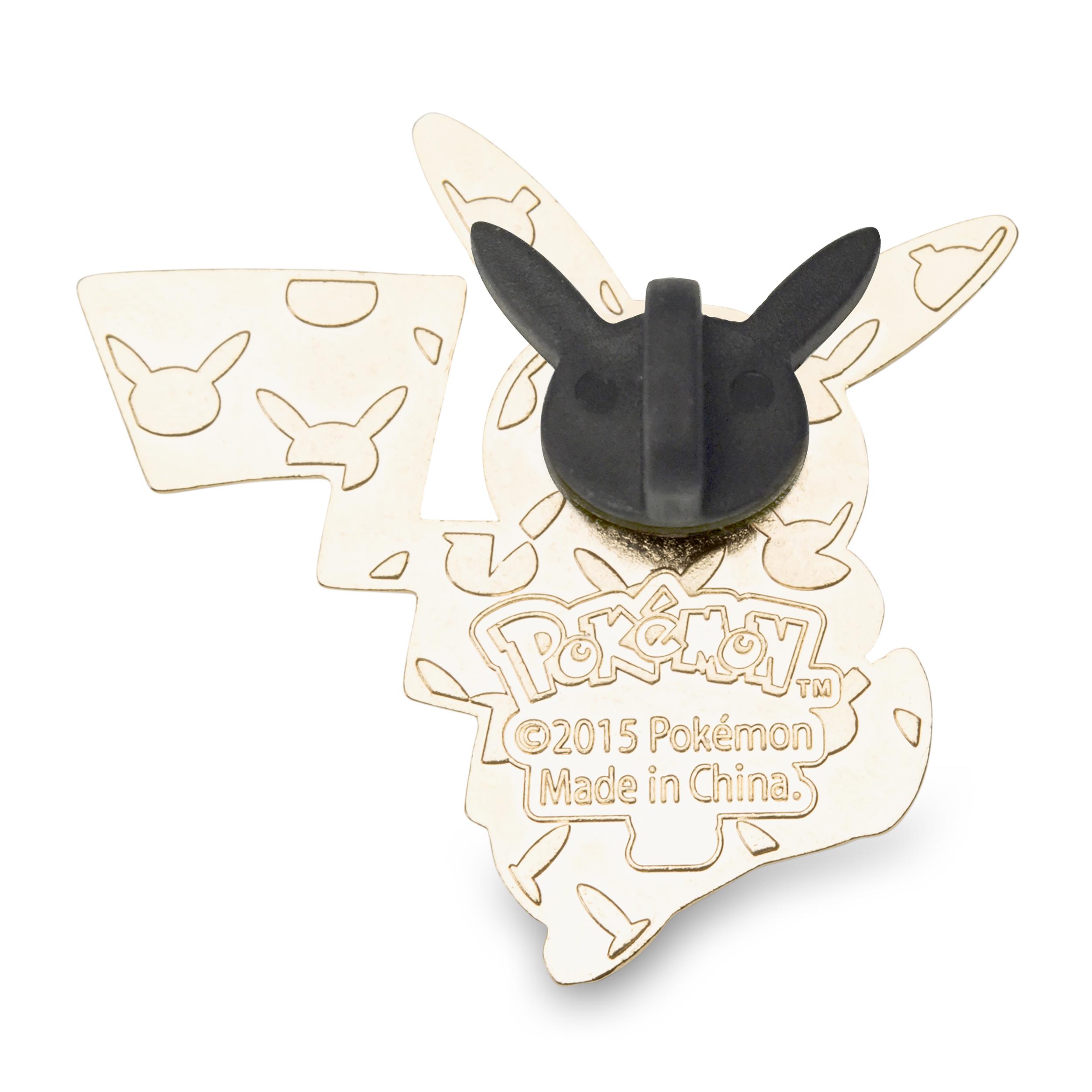 Pikachu Bulbasaur Charmander Squirtle Pokémon Pins (4 Pack)