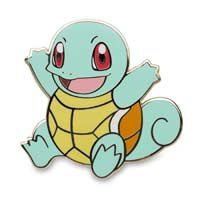 Image for Pikachu Bulbasaur Charmander Squirtle Pokémon Pins (4 Pack) from Pokemon Center
