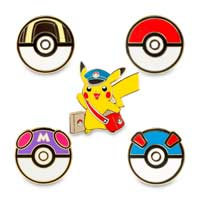 Image for Special Delivery Pikachu and Poké Balls Pokémon Pins Starter Kit (Includes Lanyard) from Pokemon Center