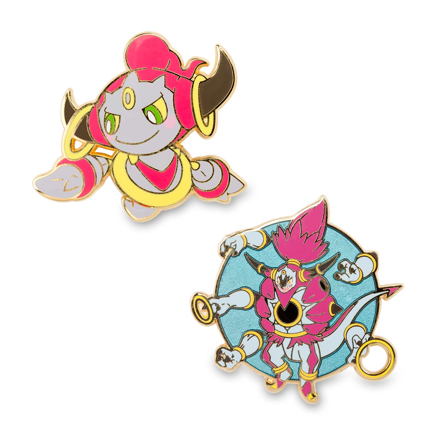 Hoopa Confined And Hoopa Unbound Pok 233 Mon Pins Pin Collection Pok 233 Mon Center Original