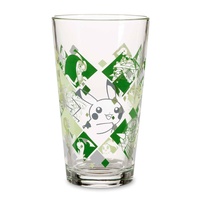 Just My Type Pokémon Tumbler Glass Grass Type Pokémon Center