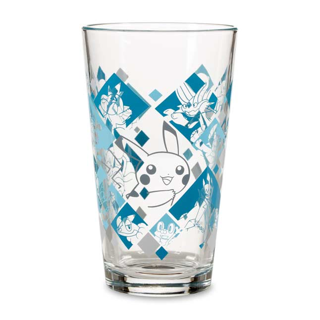 Image for Just My Type: Water Type Glass Tumbler from Pokemon Center