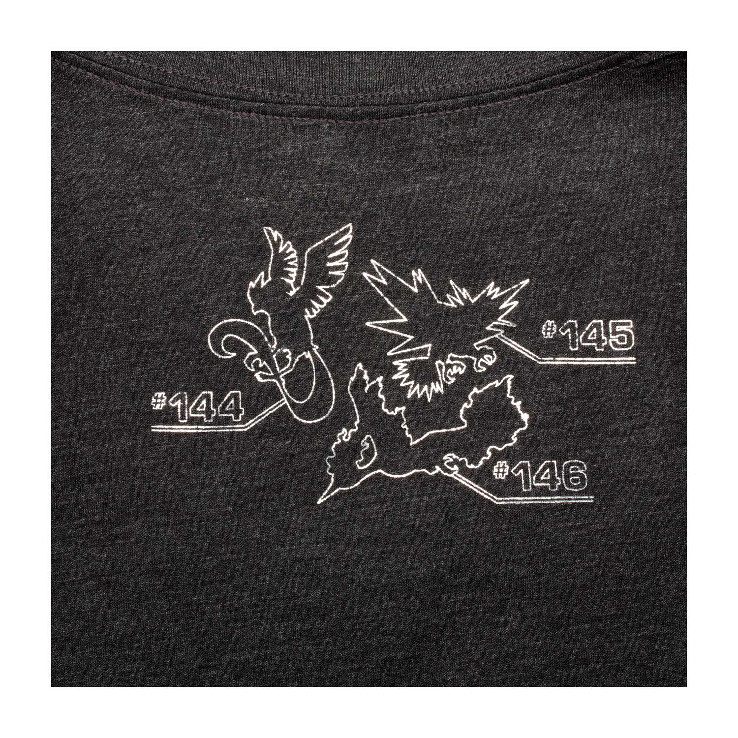 84897b82 ... Image for Articuno, Zapdos, Moltres Eclipse Women's Fitted V-Neck T- Shirt ...