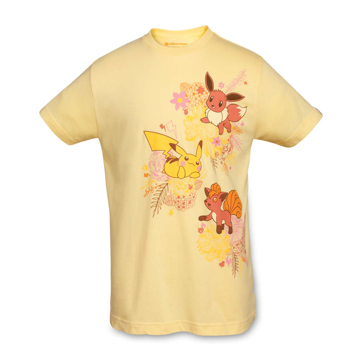 d6827d6a Image for Kanto Blossoms Youth Relaxed Crewneck T-Shirt from Pokemon Center