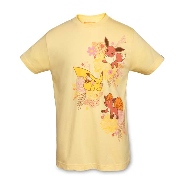 Image for Kanto Blossoms Youth Relaxed Crewneck T-Shirt from Pokemon Center