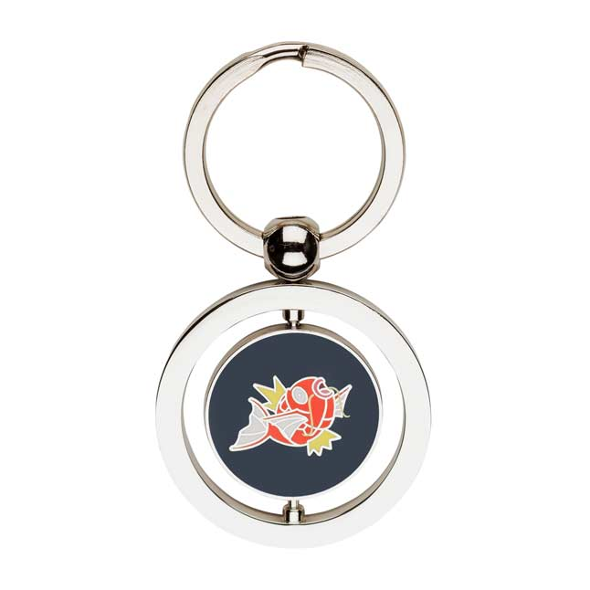 Image for Magikarp and Gyarados Spinning Keychain from Pokemon Center