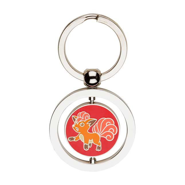 Image for Vulpix and Ninetales Spinning Keychain from Pokemon Center