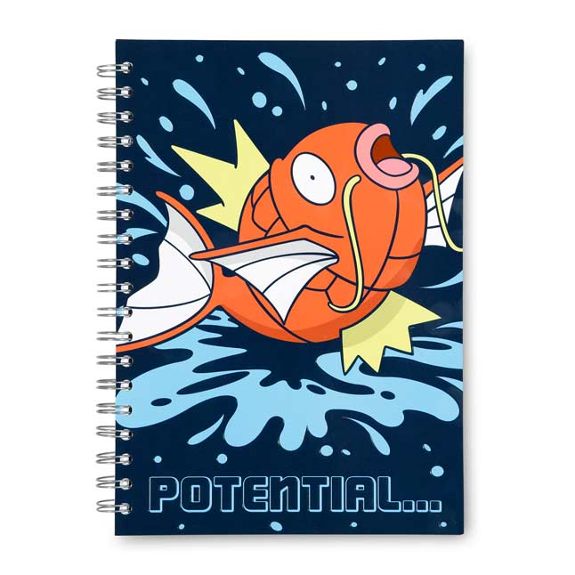 Image for Magikarp Spiral Notebook (200 Pages) from Pokemon Center