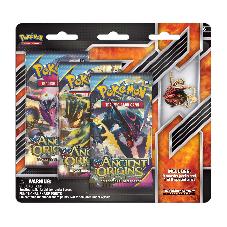Shiny Mega Rayquaza Pin 3 Booster Pack Blister Pok 233 Mon