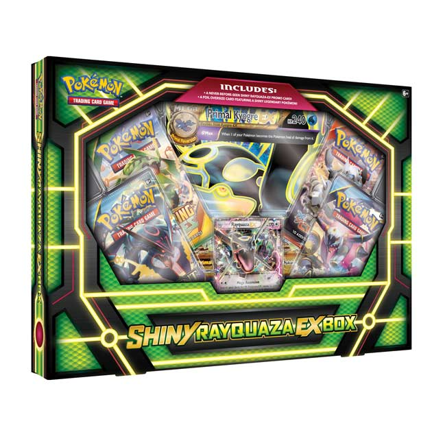 Image for Pokémon TCG: Shiny Rayquaza-EX Box from Pokemon Center
