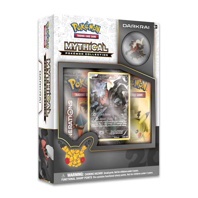 Image for Pokémon TCG: Darkrai Mythical Pokémon Collection from Pokemon Center