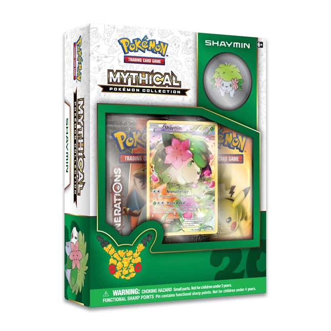 Image for Pokémon TCG: Mythical Pokémon Collection-Shaymin from Pokemon Center