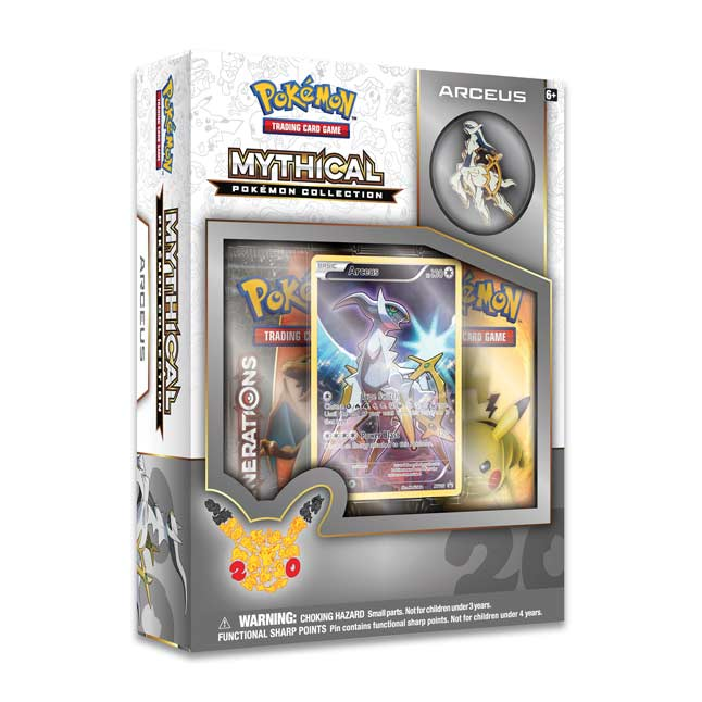 Image for Arceus Mythical Pokémon Collection (Pokémon TCG) from Pokemon Center