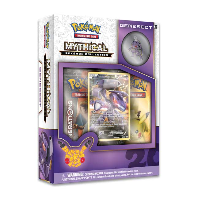 Image for Pokémon TCG: Mythical Pokémon Collection—Genesect from Pokemon Center