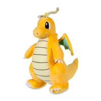 Image for Dragonite Poké Plush (Large Size) - 10 In. from Pokemon Center