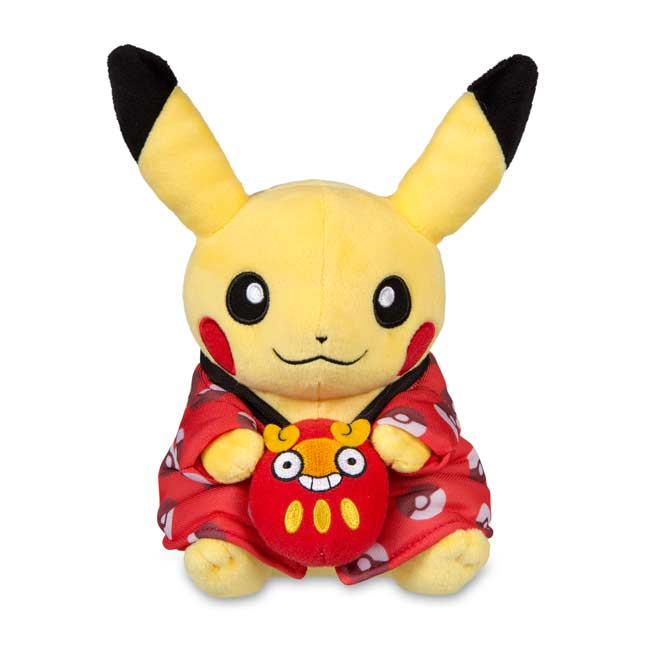 "Image for Pikachu Celebrations: Year's End Pikachu (Standard) - 8"" from Pokemon Center"