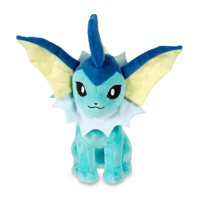"Image for Vaporeon Poké Plush (Standard Size) - 7 3/4"" from Pokemon Center"