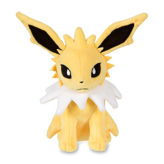 "Image for Jolteon Poké Plush (Standard Size) - 7 3/4"" from Pokemon Center"