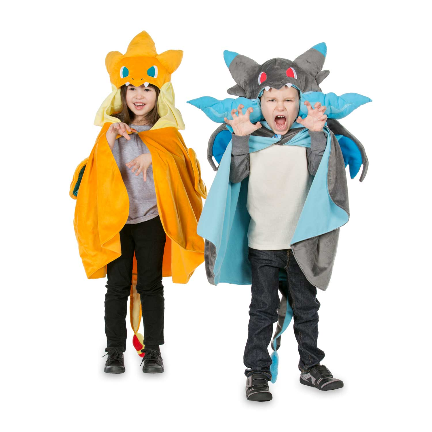 ... Image for Mega Charizard X Plush Costume from Pokemon Center. _5_3074457345618259663_3074457345618262055_3074457345618268804  sc 1 st  Pokemon Center & Mega Charizard X Cape | Blue Pokémon Cape | Pokémon Center Original