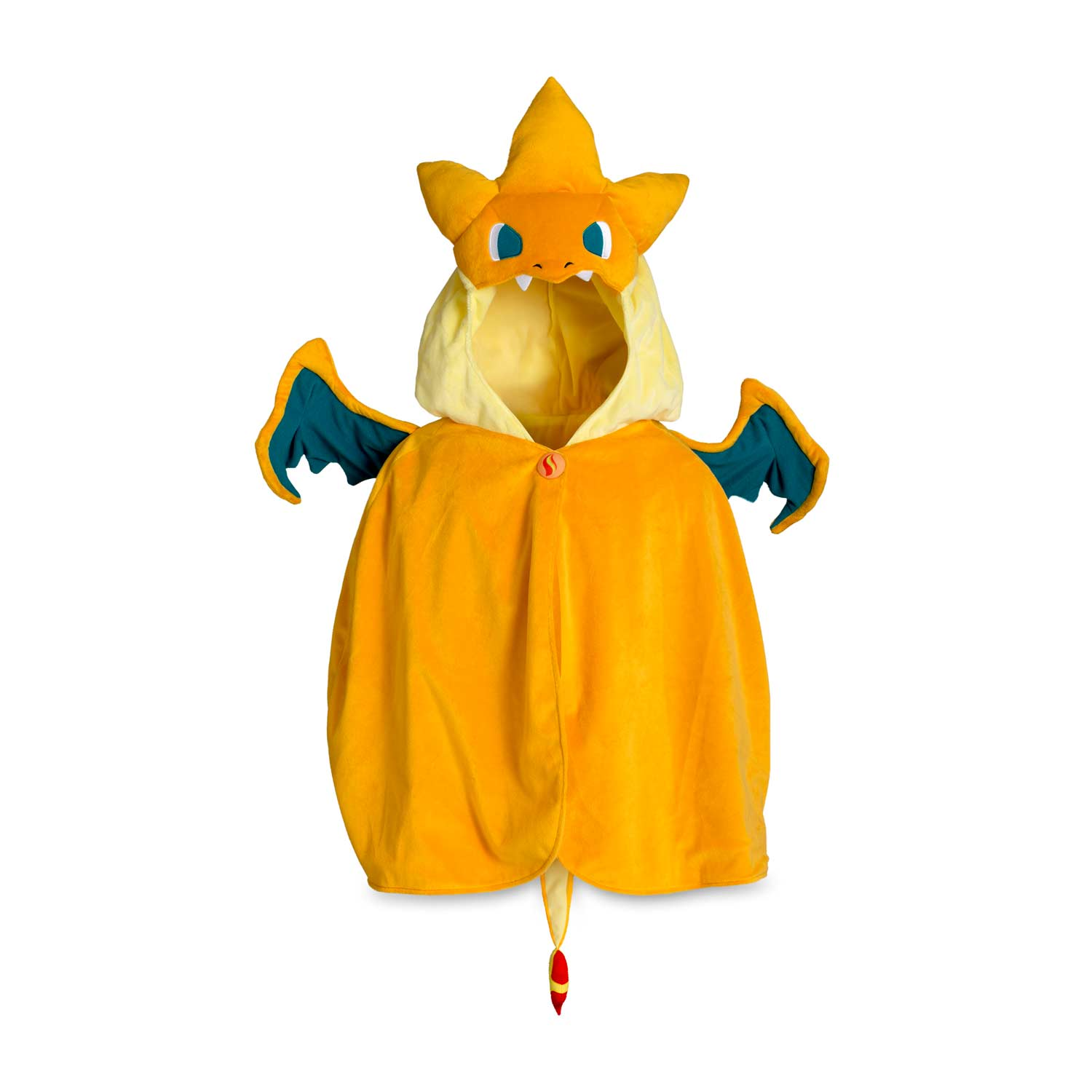 Image for Mega Charizard Y Plush Costume from Pokemon Center  sc 1 st  Pokemon Center & Mega Charizard Y Cape | Orange Pokémon Cape | Pokémon Center Original