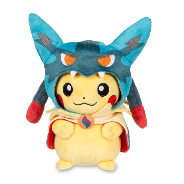 "Image for Mega Lucario Costume Pikachu Poké Plush (Standard Size) - 9"" from Pokemon Center"