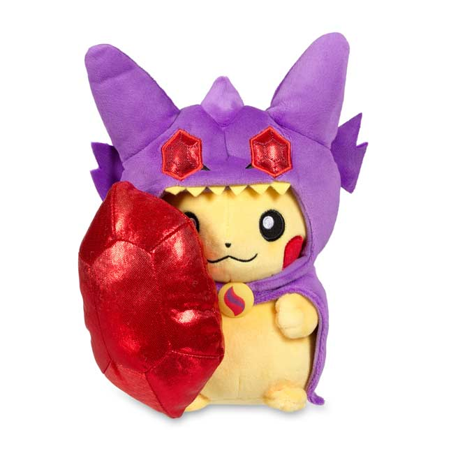 "Image for Mega Sableye Costume Pikachu Poké Plush (Standard Size) - 9"" from Pokemon Center"