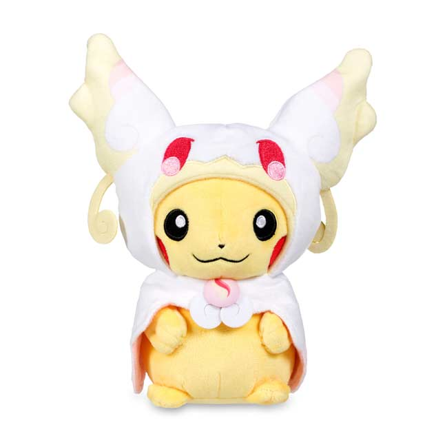 "Image for Mega Audino Costume Pikachu Poké Plush (Standard Size) - 9"" from Pokemon Center"