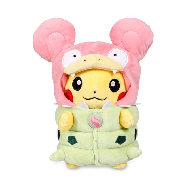 "Image for Mega Slowbro Costume Pikachu Poké Plush (Standard Size) - 8 1/4"" from Pokemon Center"