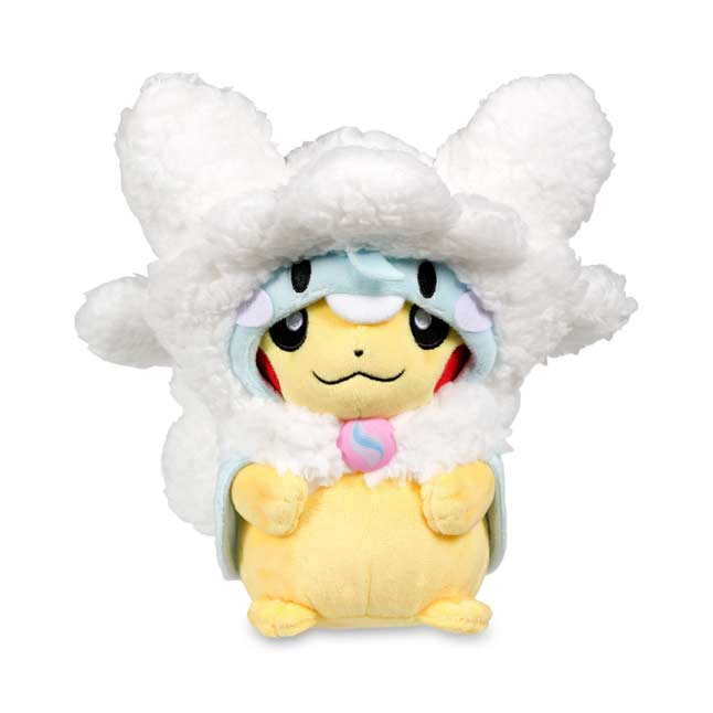 "Image for Mega Altaria Costume Pikachu Poké Plush (Standard Size) - 8 1/4"" from Pokemon Center"