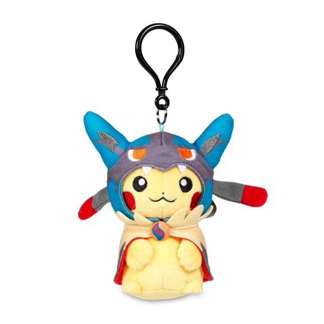 Image for Mega Lucario Costume Pikachu Keychain Plush from Pokemon Center