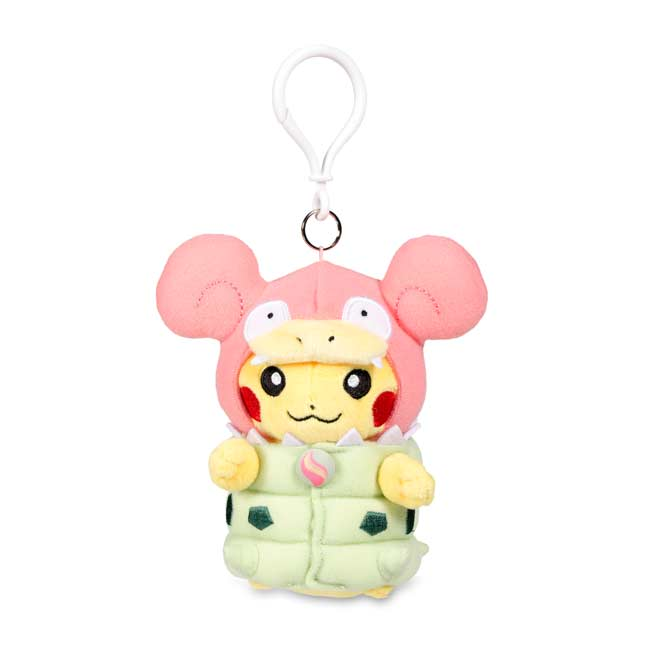 Image for Mega Slowbro Costume Pikachu Keychain Plush from Pokemon Center