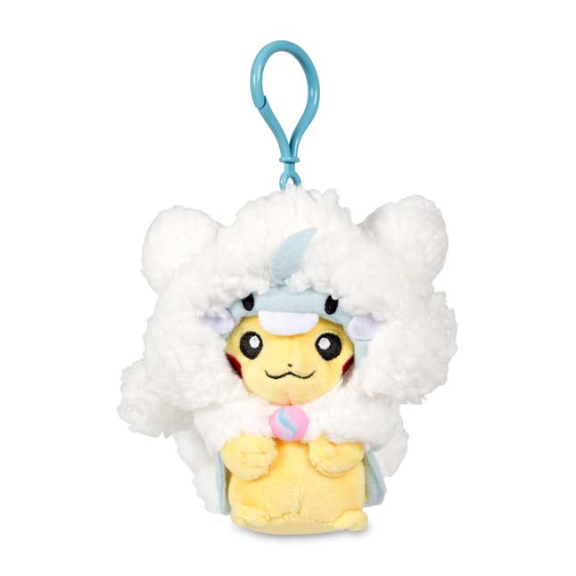 Image for Mega Altaria Costume Pikachu Keychain Plush from Pokemon Center