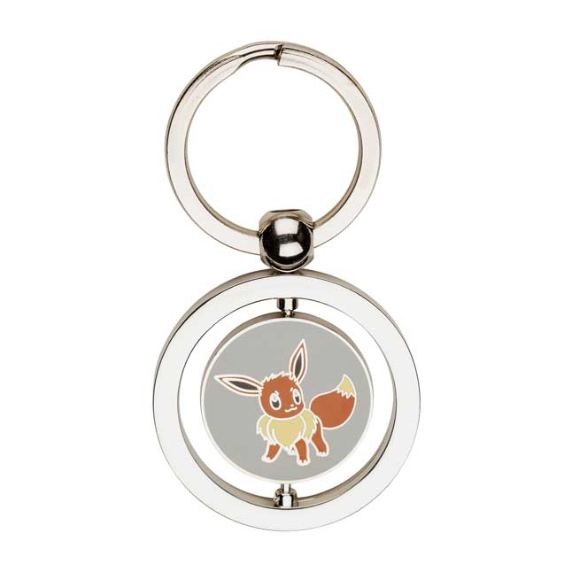 Image for Eevee and Umbreon Spinning Keychain from Pokemon Center