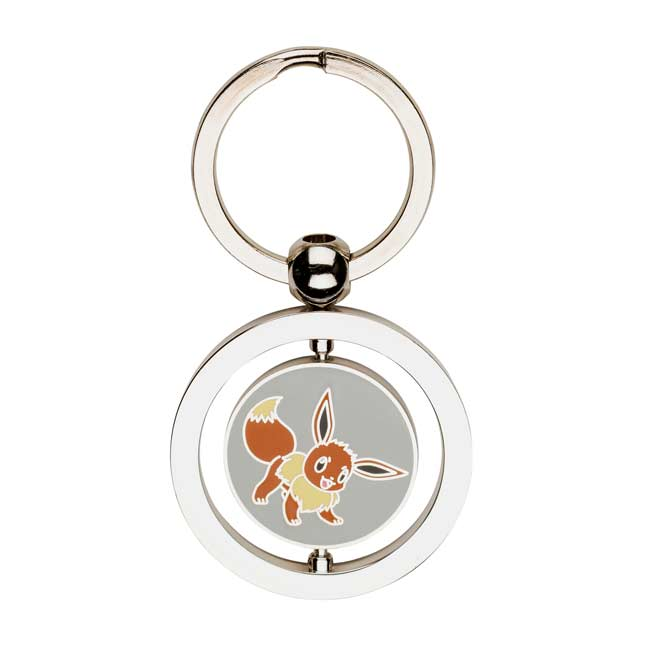 Image for Eevee and Espeon Spinning Keychain from Pokemon Center